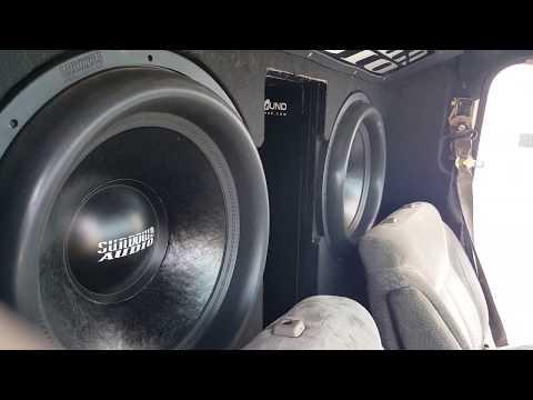 Sundown Audio 4X18 V.2 2 SCV6000Ds 11,500 clamped watts!