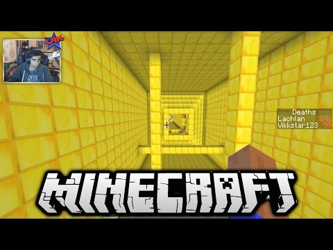 Minecraft 20 LEVEL DROPPER MAP The Falling 3 Part 1 with Vikkstar & Lachlan
