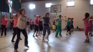 Jumpin up (Sushy) with a zumba choregraphy (Charline & Jessica)