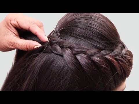 Xxx Mp4 Beautiful Hairstyle For Wedding Party Function Hair Style Girl Braided Bun Hairstyles For Party 3gp Sex