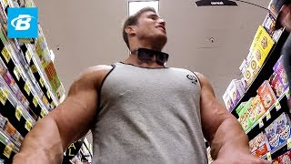 Calum Von Moger Goes Grocery Shopping & Chest Workout for Mass | Episode 2