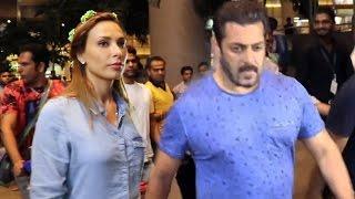 Salman Khan & Iulia Vantur RETURNS Mumbai From Maldives Holiday