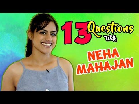 Top 13 Questions with Neha Mahajan   Tuza Tu Maza Mee Marathi Movie   Lalit Prabhakar
