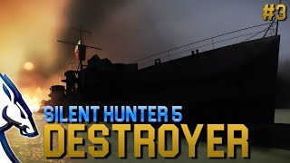 Silent Hunter 5: Destroyer (#3 WoS mod)