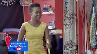 Eva The Queen Of England. Kansiime Anne. African comedy.