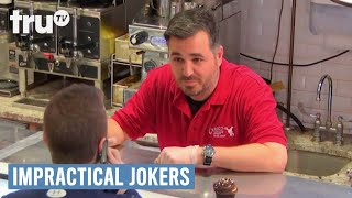 Impractical Jokers - Q Gets Fired By The Cake Boss | truTV