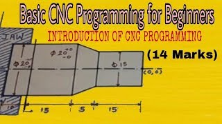 Basic CNC Programming | CNC Programming for beginners | CNC Programming |