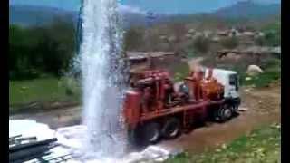 Download Watertec 24 Water Well Drilling Rig in Kurdistan, Iraq 3Gp Mp4
