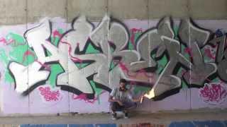 Asben graffiti en Madrid HD