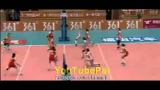 خفن ترین صحنه والیبال جهان × بازی والیبال زنان × 2 دقیقه بازی بدون وقفه برای یک امتیاز