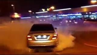 Mercedes Benz  AMG 63 spinning