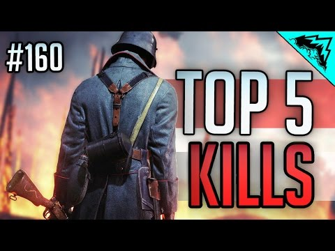 watch Battlefield 1 Top 5 Plays (Snipers, AT Rocket, Shotgun Kills) BF1 Early Access WBCW #160
