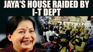 Jaya Tv Raids : I-T department search Jayalalithaa