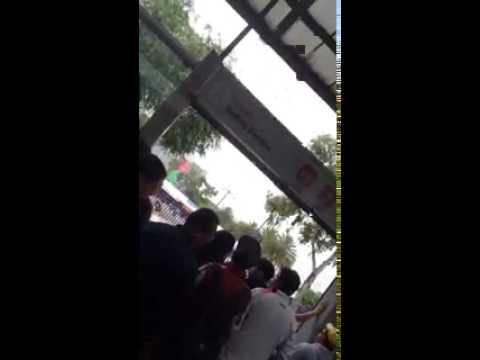 DELINCUENTES en Metrobus Buenavista D.F.