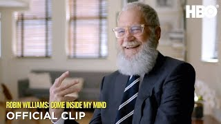 David Letterman 'He Could Fly'   Robin Williams: Come Inside My Mind   HBO