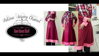 Premium Finish Muslimah Dress Sewing Tutorial
