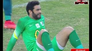 أحمد كابوريا يسجل هدف المصري الثاني في مرمى إنبي