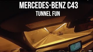 Tunnel Fun - Southside Cruise - 2017 Mercedes-Benz C43 - Performance Exhaust