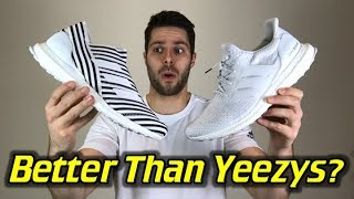Adidas Nemeziz Tango 17+ 360AGILITY UltraBOOST (Dust Storm) - One Take Review + On Feet