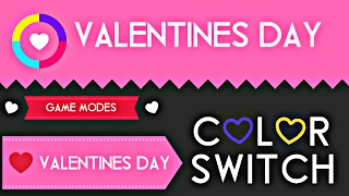Color Switch Valentine's day update 2017