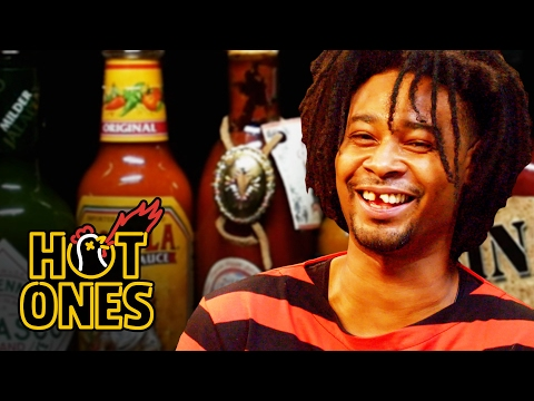 Danny Brown Has An Orgasm Eating Spicy Wings Hot Ones