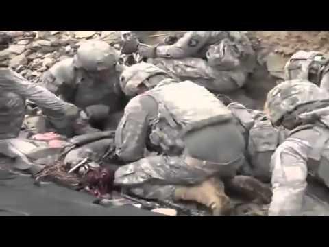 Emboscada soldado americano leva tiro na cabeça