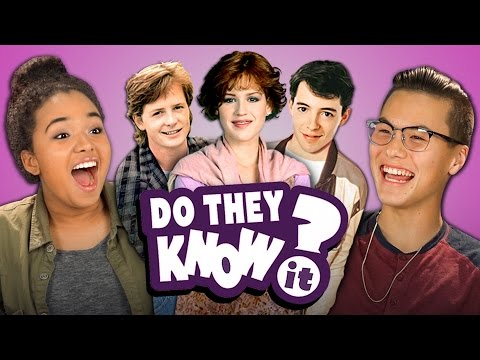 DO TEENS KNOW 80s MOVIES REACT Do They Know It