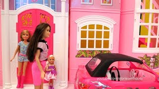 Barbie Toy Episodes for Kids - Family Fun Stories at Barbie's Car Wash, Dreamhouse, and the Park