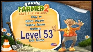 Youda Farmer 2: Save The Village Gold Playthrough/Trophy Guide – Level 53 [Part 43]