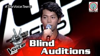 The Voice Teens Philippines Blind Audition: Jovy Battung - Habang May Buhay