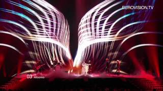 Aurela Gace - Feel The Passion (Albania) - Live - 2011 Eurovision Song Contest 1st Semi Final