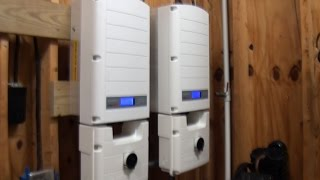 SolarEdge Solar Inverter - First time powerup - Activation, Setup, and Pairing