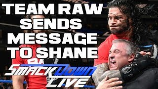 WWE Smackdown Live 11/14/17 Full Show Review: KURT ANGLE LEADS RAW COUNTER SIEGE ON SMACKDOWN
