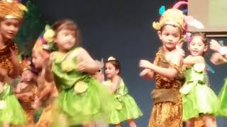 Dance by kg1 students on song tarzan and zane