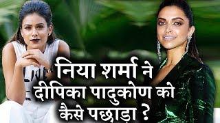 Reveals ! HOW  Nia Sharma beats Deepika Padukone ?