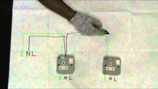 soket keluaran / outlet socket - sambungan jejari / radial circuit