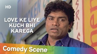 Best Of Johnny Lever - Comedy Scene - Love Ke Liye Kuch Bhi Karega - Shemaroo Bollywood Comedy