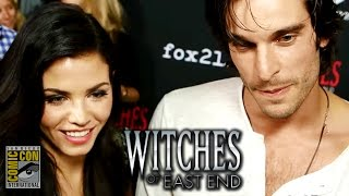 Witches of East End Comic Con 2014 Interviews (Jenna Dewan-Tatum & Julia Ormond)