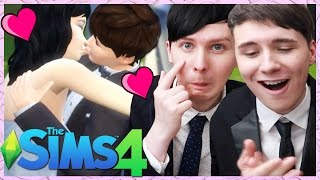 Download DIL'S WEDDING  - Dan and Phil Play: Sims 4 #29 3Gp Mp4