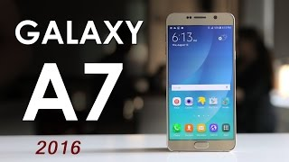 Samsung Galaxy A7 2016 New Smartphone Good Look Rrview