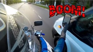 BIKERS SMASHING MIRRORS COMPILATION & ROAD RAGE | [Ep. #69]