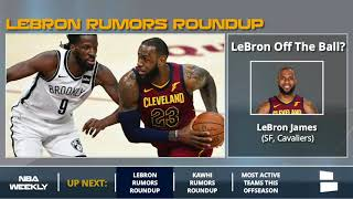 LeBron James Rumors: Leaving The Cavs & Joining The 76ers In 2018 Free Agency