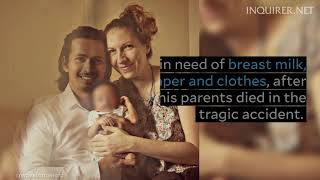 Infant, who lost parents to car crash, in need of breast mik, clothes, diapers