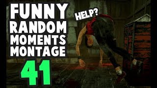 Dead by Daylight funny random moments montage 41