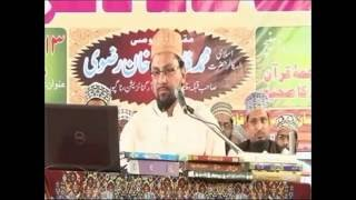 Wahabi ka Aqeeda Allah Arsh pe Baitha hai by Farooq Razvi Sahab