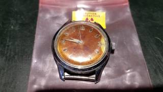 Old radium watch