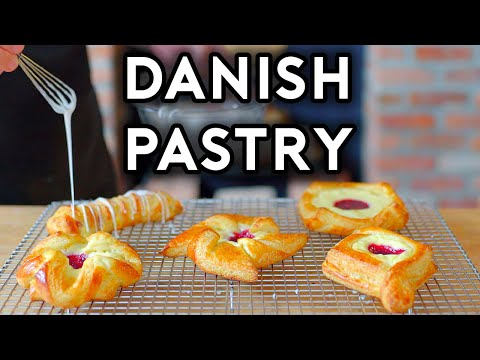 Binging with Babish Raspberry Danish from Ant Man & The Wasp