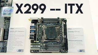 The X299 ITX Motherboard!  Plus a Bitcoin Surprise...
