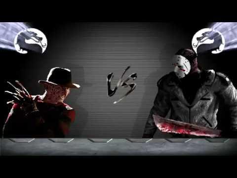 BTW MUGEN - Freddy Krueger vs. Jason Voorhees