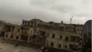 مجد حوران: 14/12/2016: مشاهد من القصف  الذي تتعرض له الأحياء المحاصرة في مدينة  حلب